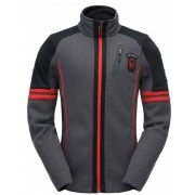 Pulóver Spyder Men`s Wengen Full Zip Mid wt Stryke Fleece 181372-069