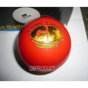 GB PRODUCT Synthetic Red CRICKET Ball ( 6 pCs BALLS )