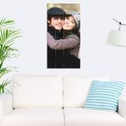 YourSurprise Foto op houten planken - 40 x 80 cm