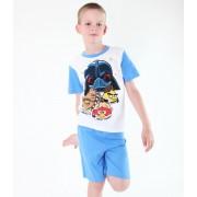 pyžamo chlapecké TV MANIA - Angry Birds/Star Wars - White - SWAB 341
