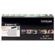 Lexmark E360H11E Original Toner Cartridge Black
