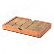 Asamblea de madera chocolate Magic Box - Brown
