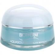 Biotherm Aquasource Total Eye Revitalizer tratamiento de ojos antibolsas y antiojeras con efecto frío 15 ml