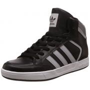 adidas Originals Men's Varial Mid Cblack, Lgsogr and Ftwwht Leather Sneakers - 6 UK/India (39.33 EU)