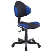 Ofisillas Silla escritorio Juvenil BASTER, en malla transpirable, color Azul