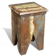 vidaXL Antik újrahasznosított fa kicsi szék