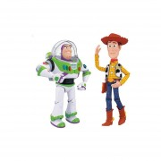 Figuras De Acción Electrónicas Toy Story 4 Buzz Y Woody - Multicolor