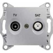 SEDNA TV-R-SAT aljzat átmenő 8 db IP20 Alumínium SDN3401260 - Schneider Electric