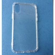 Силиконов калъф за iPhone X прозрачен гръб
