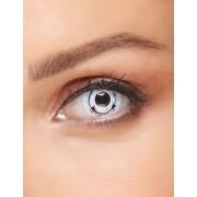 Vegaoo Schaurige Kontaktlinsen für Erwachsene im Stacheldraht-Design