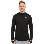 Nike Dry Element Running Hoodie BlackReflective Silver