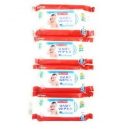 Baby Wipes With Aloevera (Buy 2 Get 1 Free) 80 sheets in each piece