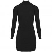 ComeGetFashion Sweater jurk zwart- Truien & Sweaters