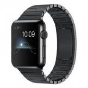 Apple Schakelarmband Apple watch 42mm / 44mm stainless steel bandje - Zwart