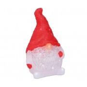 Grundig - LED Decorațiune de crăciun 24xLED/3xAA pitic roșu