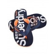 Superdry Flip Flop Navy/Orange M