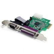 Tarjeta Controladora PCI Express c/1 Serie +1 Paralelo,PEX1S1P952
