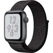 Smartwatch Apple Watch Nike+ Series 4 GPS, 40mm, Carcasa Space Grey Aluminium, Bratara Nike Sport Loop Black