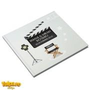 Carte de amintiri pentru nuntă cu tema Cinema