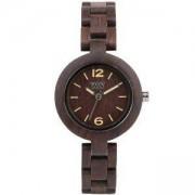Дамски дървен часовник WeWood Mimosa Chocolate, 70205-500