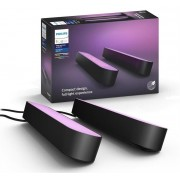Philips Hue Play Smart Light Bar Double Pack (Black)
