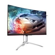 "AOC AGON AG322QC4 80 cm (31.5"") WQHD Curved Screen LED Gaming LCD Monitor - Black, Silver"