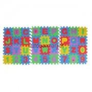 Alcoa Prime Classic Soft Foam Alphabet Number Pattern Puzzle Mat Baby Constructing Block
