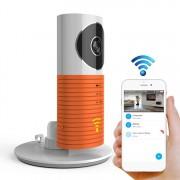 Automatisch inschakelen van de lichtsensor intelligente huis draadloze Wifi IP-Camera ondersteuning van Video & momentopname & infrarood Detect (Orange)