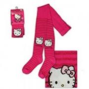 Детски чорапогащник Hello Kitty цикламен