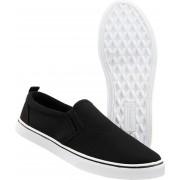 Brandit Southampton Slip On Zapatos Negro/Blanco 36