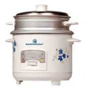 Kelvinator KRC-411 400-Watt 1-Litre Rice Cooker, Food Steamer(1 L, White)