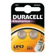 Duracell Batterij LR43/V12GA 1.5 V Alkaline 2 Stuks