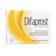 Difass international srl Difaprost Integratore 15 Compresse