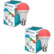 SWARA B22 7W COLOR LED BULB RED- PACK OF 2