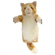 The Puppet Company - Long-Sleeved Glove Puppets - Cat (Ginger)