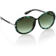 Fastrack Round Sunglasses(Green)