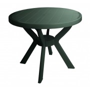 Baštenski sto Mezzo, tamno zelena