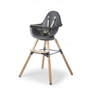 High chair kinderstoel Evolu ONE.80° Naturel-Antraciet