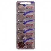 Бутонна батерия литиева CR-2032 3V 5бр. в блистер /цена за 5 бр./ MAXELL, ML-BL-CR-2032-5PK