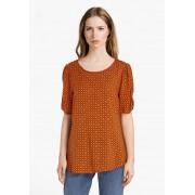 Soyaconcept Oranje blouse in viscose