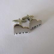 Distino Of Melbourne Novelty Piano Cufflinks CPIANO
