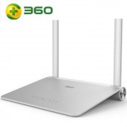 360 original ultra-delgado 300 Mbps 802.11 b / g / n Wireless Router - plata