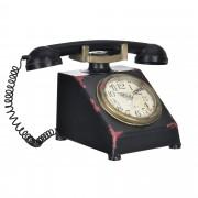 [en.casa]® Stolní hodiny ve tvaru telefónu - analogové - 33 x 20 x 19 cm - barevné