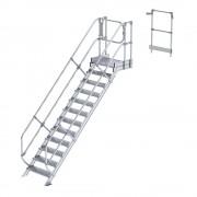Guenzburger Industrie-Laufsteganlage Treppenmodul 12 Stufen inkl. Plattform