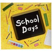 MBI lbum de días Escolares, 12 x 12 Pulgadas, Color Amarillo