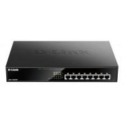 D-Link Switch Ethernet Gigabit, 10/100/1000Mbit/s, 8 porte, Desktop, Sì, DGS-1008MP