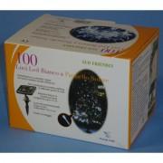Ciulli mario pannello solare per decorazioni di natale con 100 luci 00100