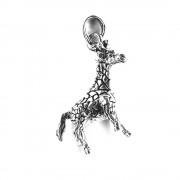 Pandantiv argint girafa cu parti mobile