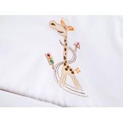 Lenjerie Patut Copii Klups Safari Giraffe H173 3 Piese