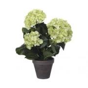 Floare artificiala, hortensie, verde